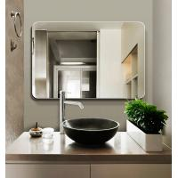 Cheap silver wall mounted frameless bathroom mirror, Anti-frog wallmouted LED mirror for sale