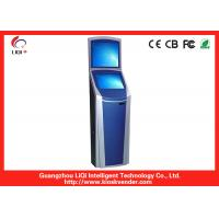 Buy cheap Indoor Dual Screen Kiosk For Bill Payment Kiosk With Thermal Printer-80mm Paper Width from Wholesalers