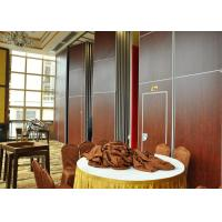 Cheap Vinyl Finish Top Hung Folding Sliding Partitions  For Wedding Room for sale