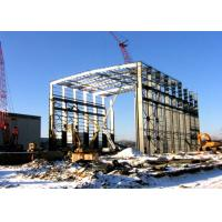 China High Rise Pre - Engineered Steel Structure Workshop Environmental Friendly on sale