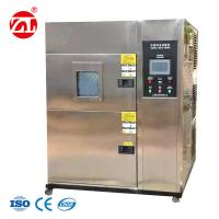 Cheap Large Color LCD Two Boxes Air - Cooled Hot and Cold Impact Environmental Chamber for sale