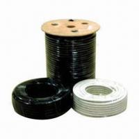 China Rg59 Coaxial Cable with Foam PE Dielectric and PVC/PE Jacket on sale