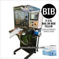 Cheap Semi-automatic BIB Filling Machine Bag Water Packaging Equipment Bag-in-Box Filler for sale