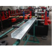Cheap C / Z Shape Automatic Changable Purlin Roll Forming Machine Hydraulic Punching Hole for European Customer for sale