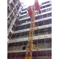 Cheap Custom Red Painted Safe Construction Material Hoists SC200 / 200 for Builder wholesale