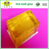 Cheap Clarity Transparent Yellow Block - Hot Melt Adhesive For Milkbox Packing Usage wholesale