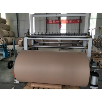 China Jumbo Paper Roll Slitter Rewinder Double-axis semi-automatic slitting machine on sale