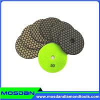4 inch dry granite polishing pads for angle grinder