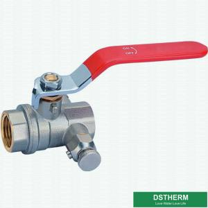 China Water Supplying Special Ball Valve With Lock Female Threaded Forged High Pressure Brass Ball Valve on sale
