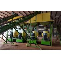 Cheap Cow dung fertilizer pellets production line with 1-5T/H capacity for sale
