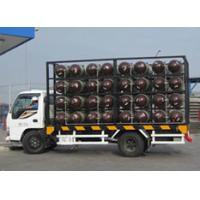 Buy cheap Type 2 CNG Gas Cylinder Mobile CNG Cascade For Natural Gas Transportation Trailer from wholesalers