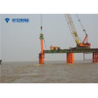 Cheap DZ-90 pile hammer for Qingdao Bay Bridge / bridge builder engineering for sale