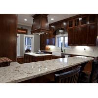 Buy cheap Grey Conquistador Stone Vanity Countertops / Waterfall Kitchen Island Bench from wholesalers
