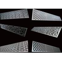 Buy cheap Special Patterns Perforated Aluminum Sheet For Decoration / Construction from wholesalers