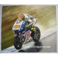 oil painting-sports