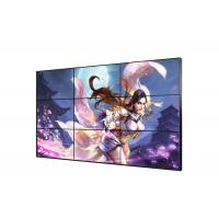 Cheap Indoor Large Flexible LCD Video Wall Tempered Glass Face Frame Decoration for sale