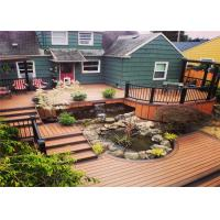 Cheap Wood  Plastic Composite Waterproof Decorating Decking Flooring for sale