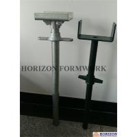 Cheap Painted Scaffold Screw Jack Base and Jack Head Jack with BS1139 Standard for sale