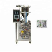 Cheap Composit Film Shampoo Packing Machine , 30-80 bags/min Paste Packing Machine for sale