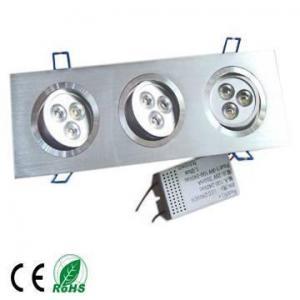 Cheap 3x3x1w high brightness hot white LED downlight for sale