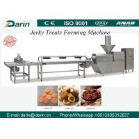Buy cheap Cold Extruded Dog Jerky Snack Treat Machine with capacity of  200-300kg per hour Pet Food Machine from wholesalers