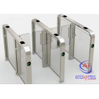 China High Security Brushless Speed Gate Turnstile RFID Biometric Access Control Systems on sale