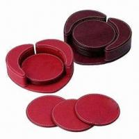Cheap Leather Coasters, Cork Coasters Also Available for sale