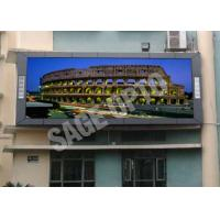 Cheap High Brightness P10 Full Color LED Display Screen For Advertising , 160*160mm for sale