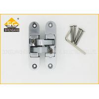 Zinc Alloy Concealed Invisible Door Hinges , 3D Adjsuatble Cupboard Door Hinges
