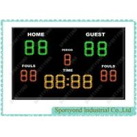 Cheap Portable LED Outdoor Indoor Football Electronic Scoreboard , Soccer Scoreboard with Timer for sale