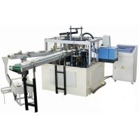 Cheap High Efficiency Automatic Disposable Paper Lid Making Machine With Hot Melt Glue Box for sale