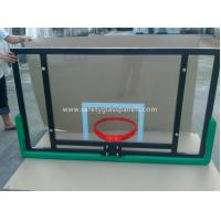 Cheap Adjustable Laminated Glass Basketball Backboard 8mm / 10mm / 12mm wholesale