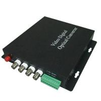 Cheap THK-4V+1D Video Optical Transmitter/Receiver for sale