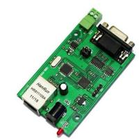 Cheap RS232 RS485 to ethernet serial to Ethernet server module converter for sale