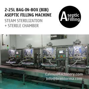 Cheap Non-backflow BIB Bag Filler 4-head Bag in Box Aseptic Filling Equipment for sale