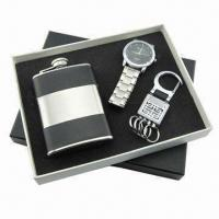 Cheap Promotional Gift Set(Watch, USB available), Measures 17.8x16x2.5cm for sale