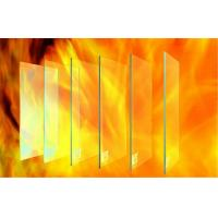 Cheap High Strength Fire Resistant Glass 1000℃ For Doors And Windows for sale