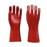 Cheap PVC Gloves Oil-resistant Coated Safety Mechanic Industrial glove for sale