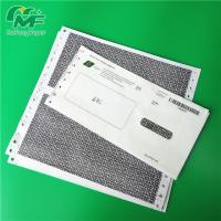 China Salary Envelope Type Pin Mailer Paper 100% Wood Pulp Material Black Image on sale