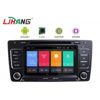 Cheap Skoda Octavia Vw Dvd Player , Vehicle Dvd Player With BT Canbus Rear Camera for sale