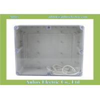 Cheap 263*182*125mm IP65 ABS Boxes, Watertight ABS Boxes, Waterproof Clear ABS for sale