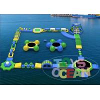 Cheap Funny Adults Inflatable Water Park For Rental Walking Amusement for sale