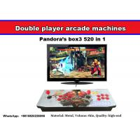 Cheap Pandora's Box 4 arcade fighting game machine with multi game board 645 in 1,Very popular arcade double joystick console for sale