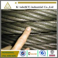 Cheap 8*19S+IWR elevator wire rope /steel cables/Emergency Towing Cable for sale