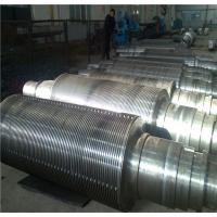 Cheap Industrial Corrugated Roller Core for Rolling Aluminum  Diameter 450 - 800mm  High Hardness for sale