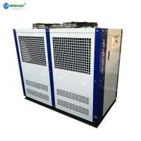 Cheap 5 Ton Air Cooled Water Chiller 220V 60Hz Low Temperature Glycol Chiller For Brewery for sale