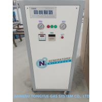 China Army Vehicle Tyre Filling Mobile Nitrogen Generation Unit 0.8 Mpa Pressure on sale
