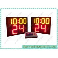 Cheap Basketball Court Stand Electronic Basketball Shot Clock With Play Time for sale