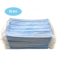 Cheap Anti Allergic Materials Eco Friendly 3 Ply Non Woven Face Mask for sale