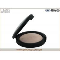 Cheap Natural Matte Powder Foundation , Suncreen Baked Powder Foundation For Oily Skin for sale
